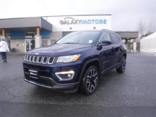 Used 2019 Jeep Compass LIMITED-NAV, 4WD, LEATHER for sale in Duncan, BC