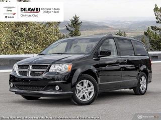 Used 2019 Dodge Grand Caravan Crew w/ NAV & Driver Convenience Grp for sale in Nepean, ON