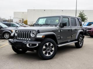 New 2021 Jeep Wrangler Unlimited Sahara | Alpine Sound | Nav | Leather for sale in Kitchener, ON