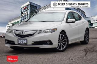Used 2016 Acura TLX 3.5L SH-AWD w/Elite Pkg No Accident| Parking Senso for sale in Thornhill, ON