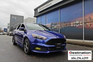 Used 2015 Ford Focus ST - 6 speed Hot Hatch! beautiful in blue! for sale in Vancouver, BC