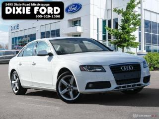 Used 2010 Audi A4 2.0T PREMIUM for sale in Mississauga, ON