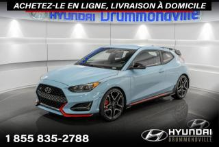 Used 2021 Hyundai Veloster N + DCT + 275 HP + MAGS 19 for sale in Drummondville, QC