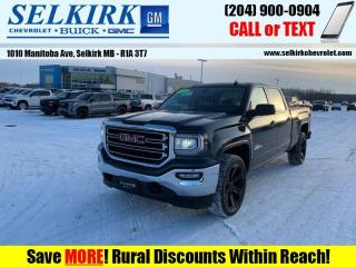 Used 2018 GMC Sierra 1500 SLE  - Kodiak Edition - Touch Screen for sale in Selkirk, MB