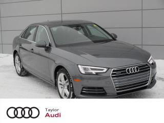 Used 2017 Audi A4 2.0T Progressiv Progressiv for sale in Regina, SK