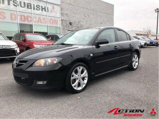 Used 2009 Mazda MAZDA3 GT+AUTO+TOIT+MAGS+A/C+SIÈGES CHAUFFANT+GR. ÉLECTRI for sale in St-Hubert, QC