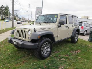 Used 2017 Jeep Wrangler Unlimited Rubicon for sale in St. Thomas, ON