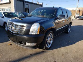 Used 2013 Cadillac Escalade ESV Luxury*NAV*REAR CAM*DVD*AC SEATS* for sale in Hamilton, ON