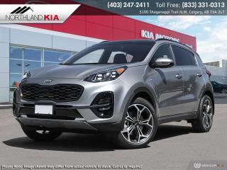 New 2021 Kia Sportage SX for sale in Calgary, AB