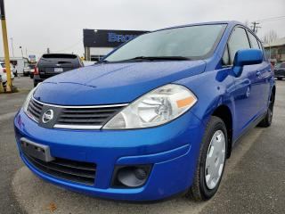 Used 2008 Nissan Versa LOCAL, LOW KM'S 1.8 S for sale in Surrey, BC