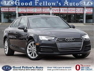Used 2017 Audi A4 PROGRESSIVE, QUATRO, LEATHER SEATS, SUNROOF, NAVI for sale in Toronto, ON