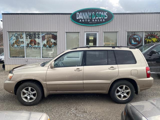 2004 Toyota Highlander V6 AS-IS