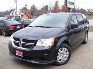 Used 2016 Dodge Grand Caravan SXT,BLUETOOTH,TINTED,CERTIFIED,NO ACCIDENT,2 KEYS for sale in Kitchener, ON