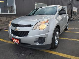 Used 2014 Chevrolet Equinox LS-AWD-CHROME WHEEL COVERS-BLUETOOTH for sale in Tilbury, ON