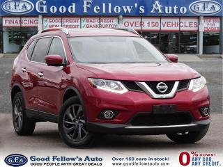 Used 2016 Nissan Rogue SL MODEL, AWD, NAVI, LEATHER SEATS, 360° CAMERA for sale in Toronto, ON