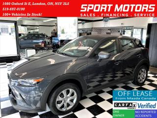 Used 2017 Mazda CX-3 GX+Camera+New Tires+Bluetooth+ACCIDENT FREE for sale in London, ON