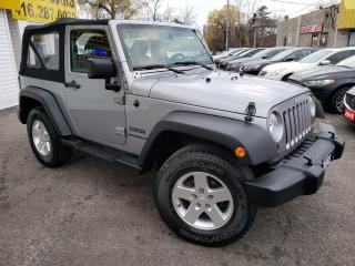 Used 2013 Jeep Wrangler SPORT/4WD/CRUISE CTRL/ALLOY RIMS/TOW HOOKS for sale in Scarborough, ON