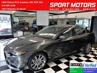Used 2019 Mazda MAZDA3 GT+Roof+Apple Play+Adaptive Cruise+ACCIDENT FREE for sale in London, ON