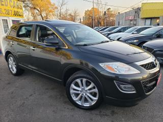 Used 2011 Mazda CX-9 GT/AWD/NAVI/CAMERA/LEATHER/ROOF/7PASS/ALLOYS... for sale in Scarborough, ON