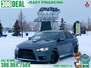 Used 2011 Mitsubishi Lancer Evolution Evolution MR for sale in Warman, SK