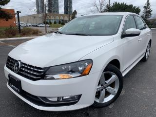 Used 2013 Volkswagen Passat COMFORTLINE  TDI LEATHER SUNROOF 4 TO CHOOSE ! for sale in Concord, ON