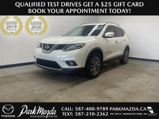 Used 2015 Nissan Rogue SL for sale in Sherwood Park, AB