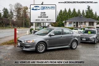 Used 2012 Mitsubishi Lancer SE, No Accidents, Alloy Wheels, Bluetooth, Finance Available for sale in Surrey, BC