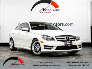 Used 2012 Mercedes-Benz C-Class C250 Coupe|Navigation|Pano Roof|ParkAssist|Harman Kardon for sale in Vaughan, ON