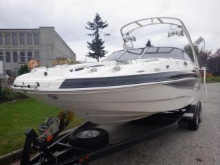 Used 2009 Larson Escape 254 Deck Boat with Trailer for sale in Burnaby, BC