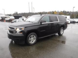 Used 2015 Chevrolet Suburban LT 1500 4WD With 3rd Row Seating for sale in Burnaby, BC