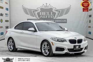Used 2016 BMW 2 Series 228i xDrive, NO ACCIDENTS, AWD, SUNROOF, RED INTERIOR. for sale in Toronto, ON