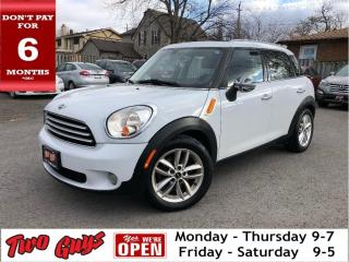 Used 2012 MINI Cooper Countryman New Tires | Auto | Panoroof | Leather | for sale in St Catharines, ON
