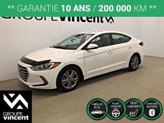 Used 2018 Hyundai Elantra GL ** GARANTIE 10 ANS ** Occasion à saisir, bas kilométrage! for sale in Shawinigan, QC