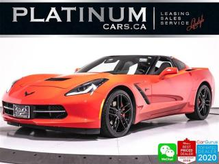 Used 2018 Chevrolet Corvette Stingray, 450HP, AUTOMATIC, NAV, CAM, BOSE for sale in Toronto, ON