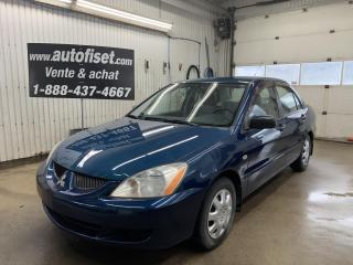 Used 2005 Mitsubishi Lancer 4dr Sdn ES Auto for sale in St-Raymond, QC