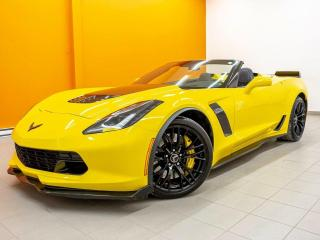 Used 2015 Chevrolet Corvette Z06 2LZ *CONVERTIBLE* VIDEO REC *NAVI* BOSE *PROMO for sale in St-Jérôme, QC
