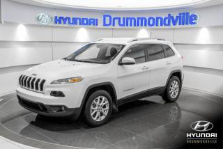 Used 2017 Jeep Cherokee NORTH AWD + GARANTIE + CAMERA + A/C + WO for sale in Drummondville, QC