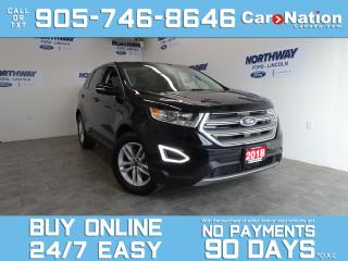 Used 2018 Ford Edge SEL | AWD | V6 | ROOF | LEATHER | NAV | ONLY 18 KM for sale in Brantford, ON
