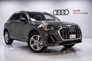 New 2021 Audi Q3 Progressiv for sale in Winnipeg, MB