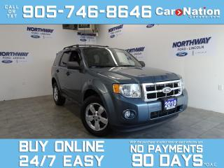 Used 2010 Ford Escape XLT | CHROME WHEELS | LOW KM! | OPEN SUNDAYS! for sale in Brantford, ON