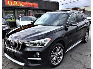 Used 2016 BMW X1 AWD-xDrive28i-NAVIGAITON-CAM RECUL-TOIT PANORAMIQU for sale in Laval, QC