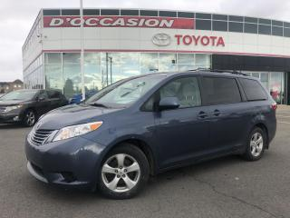 Used 2017 Toyota Sienna LE  8 PASSAGERS** CAMERA** for sale in St-Eustache, QC