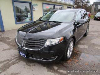 Used 2013 Lincoln MKT LOADED ALL-WHEEL DRIVE 6 PASSENGER 3.5L - ECO-BOOST.. CAPTAINS & THIRD ROW.. NAVIGATION.. LEATHER.. HEATED/AC SEATS.. DUAL SUNROOF.. BACK-UP CAMERA.. for sale in Bradford, ON