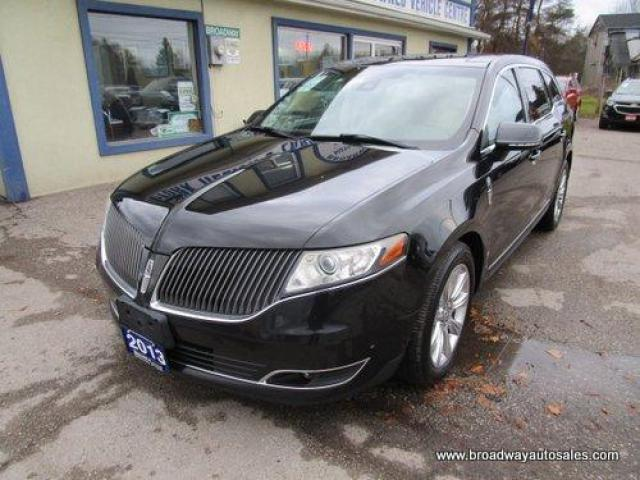 2013 Lincoln MKT LOADED ALL-WHEEL DRIVE 6 PASSENGER 3.5L - ECO-BOOST.. CAPTAINS & THIRD ROW.. NAVIGATION.. LEATHER.. HEATED/AC SEATS.. DUAL SUNROOF.. BACK-UP CAMERA..