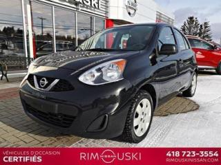 Used 2016 Nissan Micra 4DR HB SV for sale in Rimouski, QC