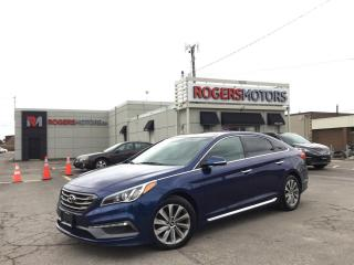 Used 2015 Hyundai Sonata 2.99%  Financing SPORT - PANO ROOF - LEATHER - REVERSE CAM for sale in Oakville, ON