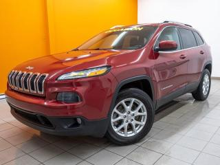 Used 2015 Jeep Cherokee NORTH 4X4 CAMÉRA SIÈGES / VOLANT CHAUFF *BAS KM* for sale in Mirabel, QC