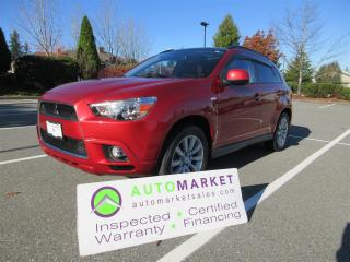 Used 2011 Mitsubishi RVR GT 4WD ROOF LEATHER INSP BCAA MBSHP WARRANTY & FINANCING! for sale in Surrey, BC