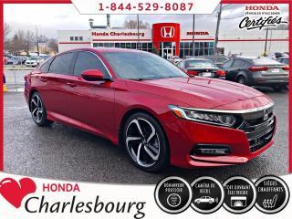 Used 2018 Honda Accord SPORT ****22 272 KM**** for sale in Charlesbourg, QC