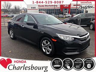 Used 2017 Honda Civic LX **38 894 KM**BLUETOOTH** for sale in Charlesbourg, QC